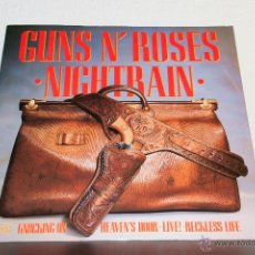 Discos de vinilo: GUNS & ROSES - NIGHTRAIN MAXI. Lote 47458727