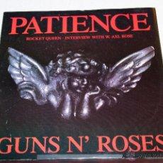 Discos de vinilo: GUNS & ROSES - PATIENCE MAXI. Lote 47458785