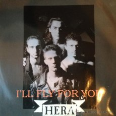 Discos de vinilo: HERA - I'LL FLY FOR YOU . MAXI SINGLE . 1990 SMILE PRODUCTION ITALY - SMILE 9016 . Lote 47459034