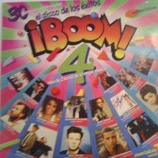 Discos de vinilo: BOOM 4 - EMI 1988 - DOBLE LP. Lote 69871863