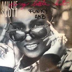 Discos de vinilo: MILLIE SCOTT - EV'RY LITTLE BIT . MAXI SINGLE . 1987 4TH & BROADWAY USA - BWAY 432 . Lote 47459802