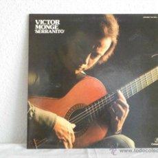 Discos de vinilo: VICTOR MONGE SERRANITO-LP COLUMBIA 1976. Lote 47462471
