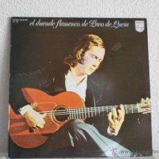 Discos de vinilo: PACO DE LUCIA EL DUENDE FLAMENCO DE-LP 1988. Lote 47462491