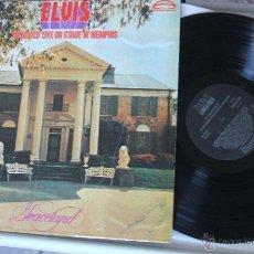 Discos de vinilo: ***** ELVIS PRESLEY - RECORDED LIVE ON STAGE IN MEMPHIS. (RCA ESPAÑA, 1987) NL-80208. Lote 47365137