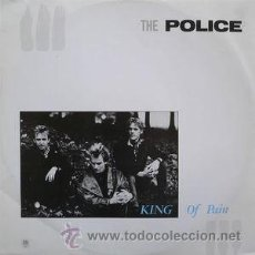 Discos de vinilo: THE POLICE, KING OF PAIN, A&M AMS 129761. Lote 47467903
