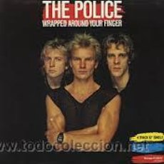 Discos de vinilo: THE POLICE, WRAPPED AROUND YOUR FINGER, AMS 129701 A&M PROMO. Lote 47467925