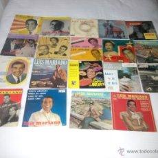 Discos de vinilo: LOTE 18 EP + 1 SINGLE 45 RPM / LUIS MARIANO. Lote 47468682