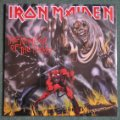 Discos de vinilo: IRON MAIDEN - THE NUMBER OF THE BEAST. Lote 47469968