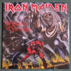 Discos de vinilo: IRON MAIDEN - THE NUMBER OF THE BEAST. Lote 132362006