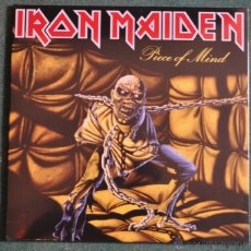 Discos de vinilo: IRON MAIDEN - PIECE OF MIND. Lote 47469999