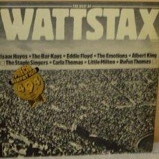 Dischi in vinile: WATTSTAX - VARIOS ARTISTAS, ISAAC HAYES, BAR KAYS, EDDIE FLOYD .... STAX - 1981. Lote 47470173