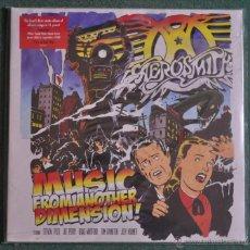 Discos de vinilo: AEROSMITH - MUSIC FROM ANOTHER DIMENSION (2XLP'S) VINILO ROJO. Lote 47470238