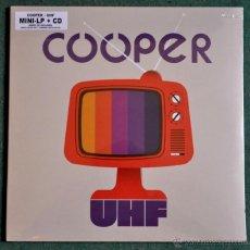 Discos de vinilo: COOPER UHF (MINI LP + CD) PRECINTADO - PRIMERA EDICION EDICIÓN LIMITADA 750 COP. -VINILO LILA. Lote 48419864