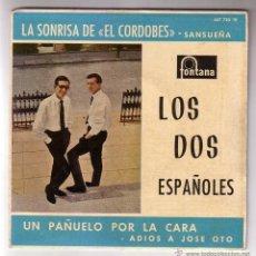 Discos de vinilo: LOS DOS ESPAÑOLES.EP.FONTANA.AÑO 1962. Lote 47474613
