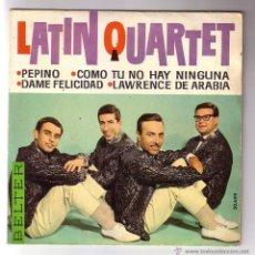 Discos de vinilo: LATIN QUARTET.EP.BELTER.AÑO 1963. Lote 47475269