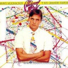 Discos de vinilo: MIGUEL BOSÉ - BRAVO MUCHACHOS Y SUS GRANDES ÉXITOS. Lote 47475286
