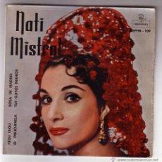 Discos de vinilo: NATI MISTRAL.EP.MONTILLA-ZAFIRO.AÑO 1959. Lote 47475297