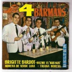 Discos de vinilo: 4 BARMANS.EP.BELTER.AÑO 1962. Lote 47475414