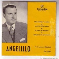 Discos de vinilo: ANGELILLO.EP.COLUMBIA.AÑO 1959. Lote 47475795