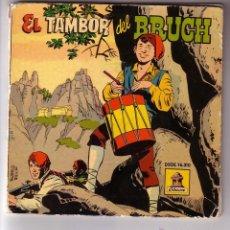 Discos de vinilo: EL TAMBOR DEL BRUCH.VINILO ROJO + COMIC.SINGLE ODEON.AÑO 1959. Lote 47476013