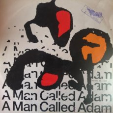 Discos de vinilo: A MAN CALLED ADAM - MUSICA DE AMOR . MAXI SINGLE . 1989 RITMO RECORDINGS UK - 12 RIT 1 . Lote 47489042