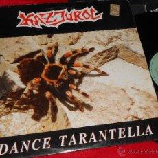 Discos de vinilo: KAZJUROL DANCE TARANTELLA LP 1990 ACTIVE RECORDS EDICION INGLESA ENGLAND UK. Lote 47493284