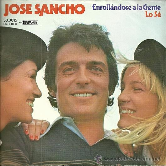 Discos de vinilo: JOSE SANCHEZ SINGLE SELLO DIAPASON EDITADO EN ESPAÑA 1979 - Foto 1 - 47497162