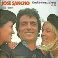 Discos de vinilo: JOSE SANCHEZ SINGLE SELLO DIAPASON EDITADO EN ESPAÑA 1979. Lote 47497162