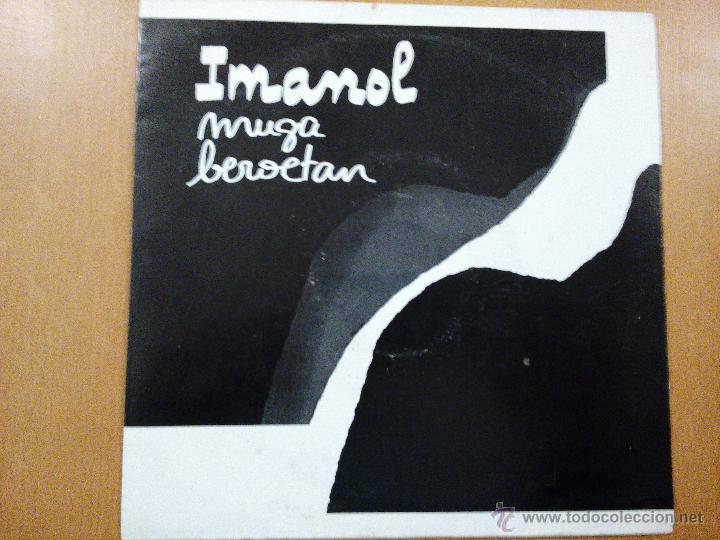 IMANOL MUGA BEROETAN SINGLE ELKAR (Música - Discos - Singles Vinilo - Country y Folk)