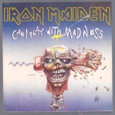 Discos de vinilo: IRON MAIDEN - CAN I PLAY WITH MADNESS (SINGLE VINILO, NUEVO Y PRECINTADO). Lote 113162027