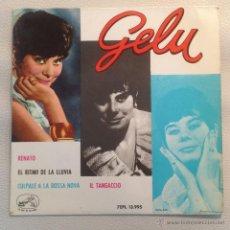 Discos de vinilo: GELU EP -1963 RENATO + 3. Lote 47509731