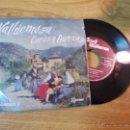 Discos de vinilo: VALLDEMOSA COROS Y DANZAS. VOLUMEN 1. PARADO DE VALLDEMOSA. COPEO DES GALLET JOVE.JOTA MARINERA.. Lote 47510070