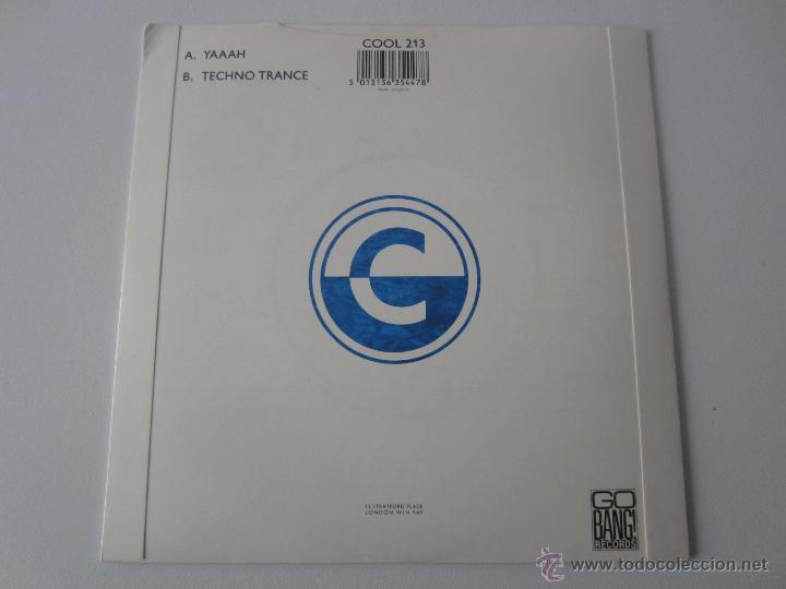 Discos de vinilo: D-SHAKE - YAAAH 1990 UK SINGLE - Foto 2 - 47520284