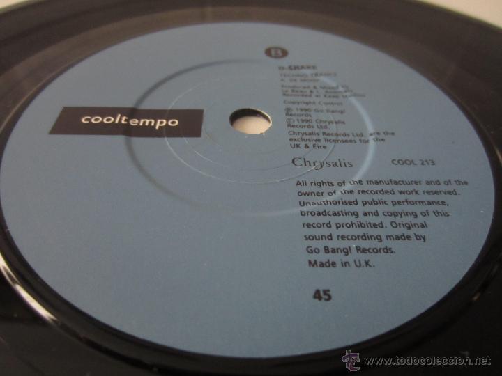 Discos de vinilo: D-SHAKE - YAAAH 1990 UK SINGLE - Foto 4 - 47520284