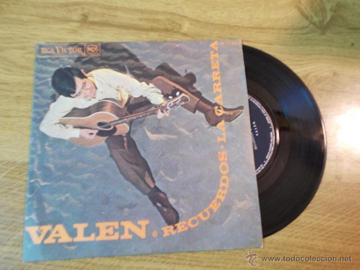 VALEN RECUERDOS. LA CARRETA (Música - Discos - Singles Vinilo - Solistas Españoles de los 50 y 60)