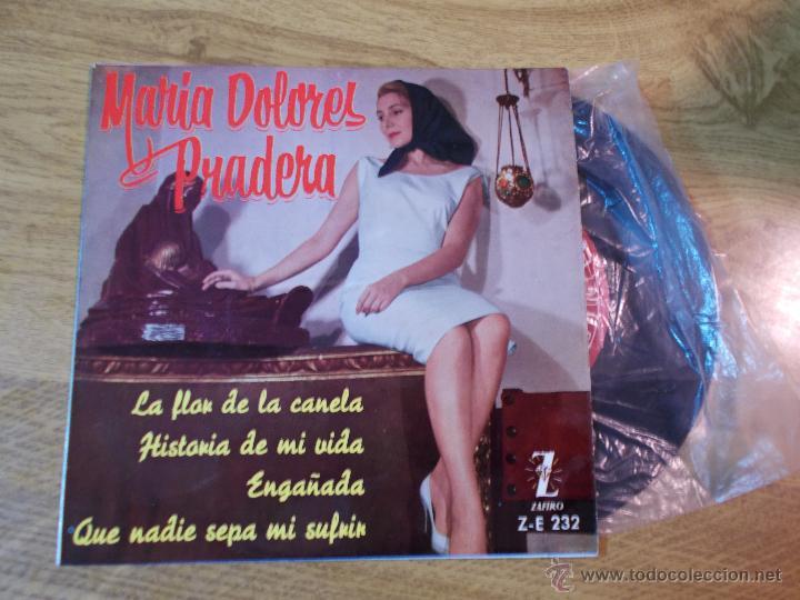 MARIA DOLORES PRADERA / LA FLOR DE LA CANELA / HISTORIA DE MI VIDA / ENGAÑADA.. EP ZAFIRO (Música - Discos de Vinilo - EPs - Grupos y Solistas de latinoamérica)
