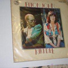 Discos de vinilo: ELTON JOHN KIKIDEE. Lote 47524216