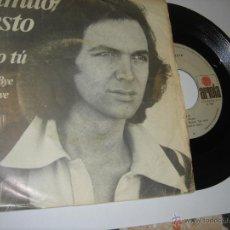 Discos de vinilo: CAMILO SESTO --SOLO TU. Lote 47524392