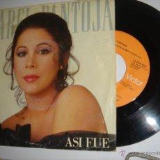 Discos de vinilo: ISABEL PANTOJA--ASI FUE. Lote 47524452