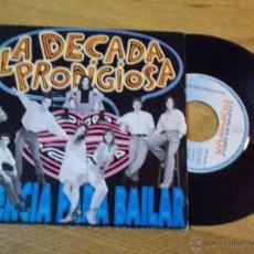 Discos de vinilo: LA DECADA PRODIGIOSA. LICENCIA PARA BAILAR. Lote 47524505