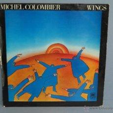 Discos de vinilo: LP. WINGS. MICHEL COLOMBIER. Lote 47529305
