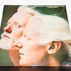 Discos de vinilo: JOHNNY AND EDGAR WINTER LP. Lote 47529406