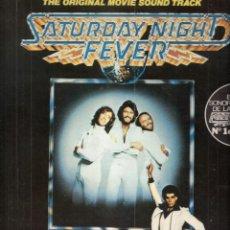 Discos de vinilo: SATURDAY NIGHT FEVER. BAANDA SONORA.BEE GEES. RSO RECORDS, INC. 1977.. Lote 47533595