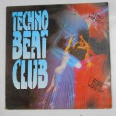 Discos de vinilo: TECHNO BEAT CLUB - 2 LP. TDKDA4. Lote 150301942