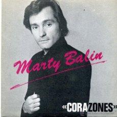 Dischi in vinile: MARTY BALIN - HEARTS / FREEWAY (SINGLE PROMOCIONAL ESPAÑOL DE 1981). Lote 47547933