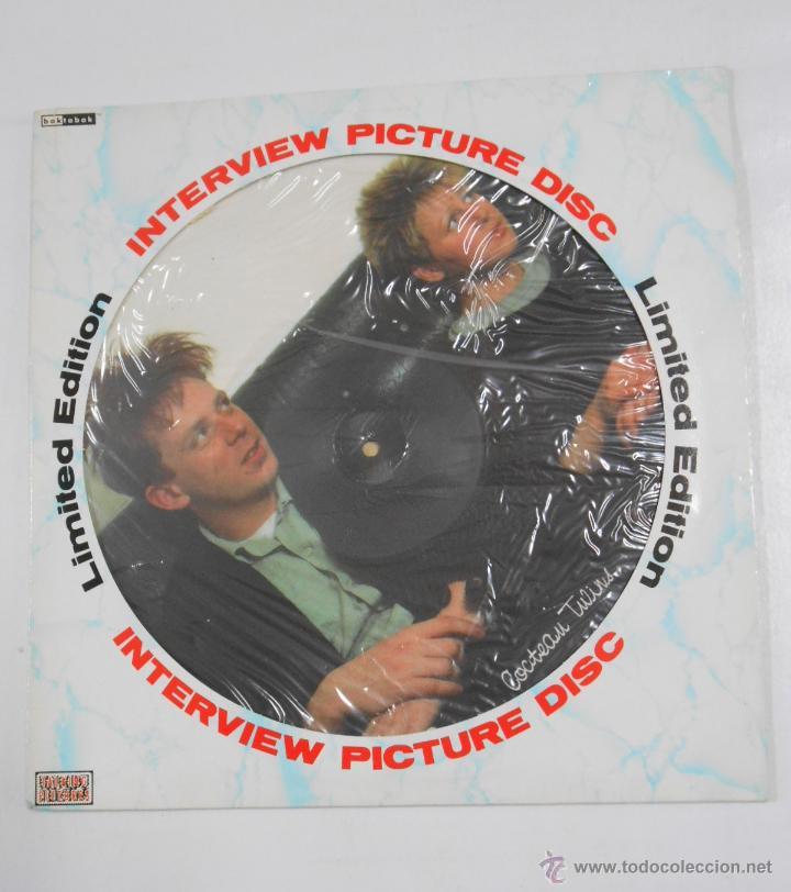 INTERVIEW PICTURE DISC LP. COCTEAU TWINS. TDKDA1 (Música - Discos - LP Vinilo - Pop - Rock - New Wave Extranjero de los 80)