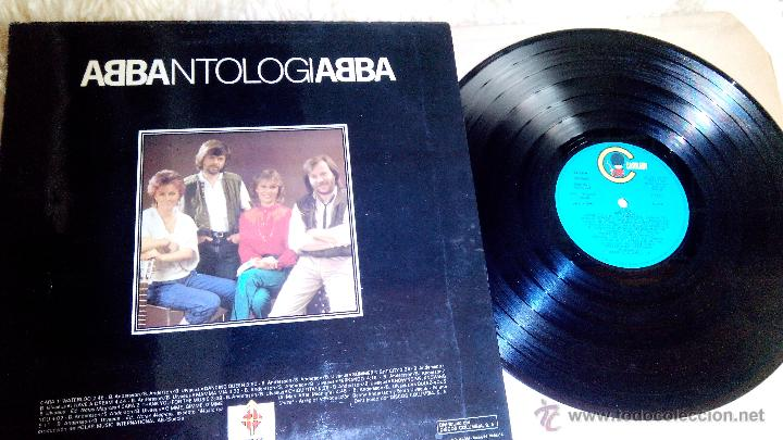 VINILO LP - ABBA - ABBANTOLOGIA - MADE IN SPAIN PARA CAJA DE BARCELONA (Música - Discos - LP Vinilo - Pop - Rock Internacional de los 90 a la actualidad)