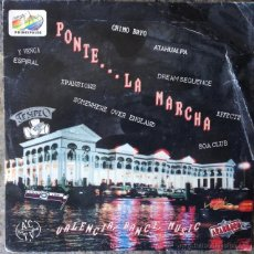 Discos de vinilo: PONTE... LA MARCHA . SINGLE . 1991 BOY RECORDS - COM 01 . Lote 58422171