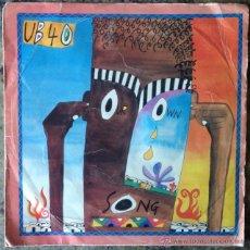 Discos de vinilo: UB40 - OUR OWN SONG . SINGLE . 1986 VIRGIN - A-108264 . Lote 47551896
