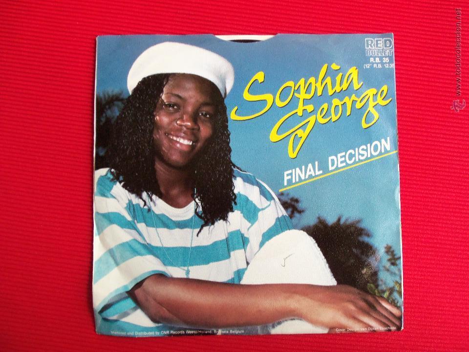 Discos de vinilo: SOPHIA GEORGE - FINAL DECISION - Foto 2 - 47553967